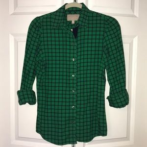 BR Flannel Button Up